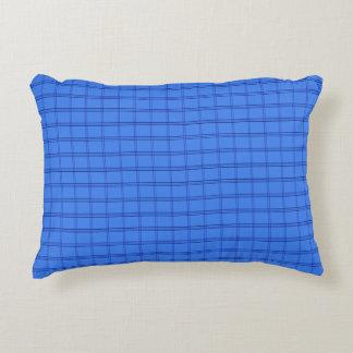 Almofada Decorativa Linhas azuis