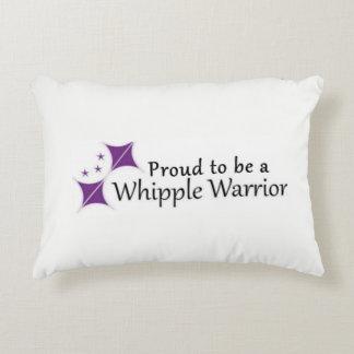 Almofada Decorativa Logotipo do travesseiro do guerreiro de Whipple