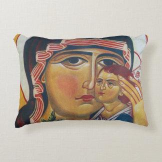 Almofada Decorativa Mãe Mary e arte de Jesus
