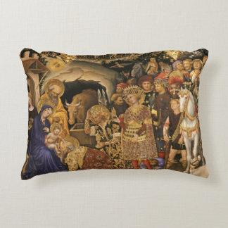 Almofada Decorativa Magi do dei de Adorazione