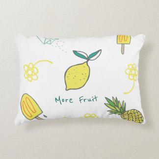 Almofada Decorativa Mais frutificam incluindo limões e abacaxis