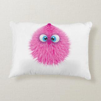 Almofada Decorativa Monstro cor-de-rosa macio bonito