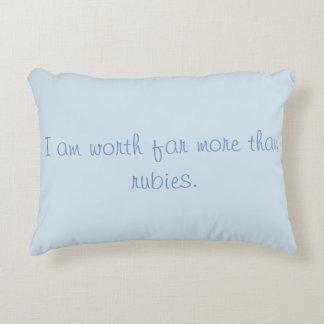 Almofada Decorativa Mulher decorativa dos provérbio do travesseiro