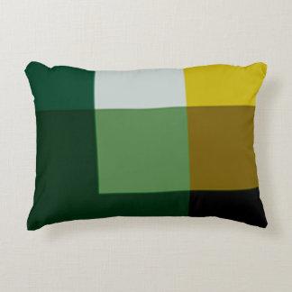 Almofada Decorativa Multi travesseiro verde escuro do acento da cor