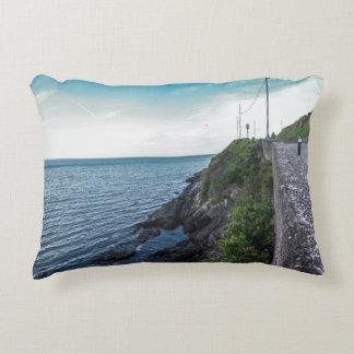Almofada Decorativa O horizonte sobre o Mar da Irlanda