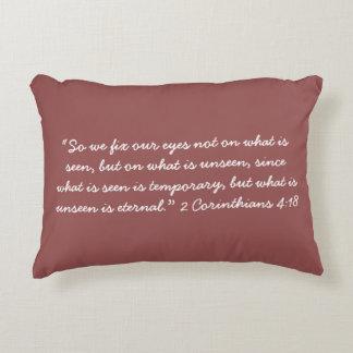 "Almofada Decorativa """" O travesseiro despercebido da escritura"