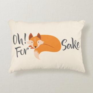 Almofada Decorativa oh para o travesseiro decorativo da causa da