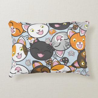 Almofada Decorativa Oodles do travesseiro do retângulo do Gatinho