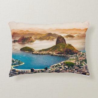 Almofada Decorativa Opinião da arquitectura da cidade de Rio de