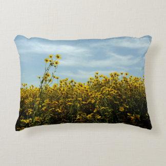 Almofada Decorativa Paisagem do girassol do Wildflower