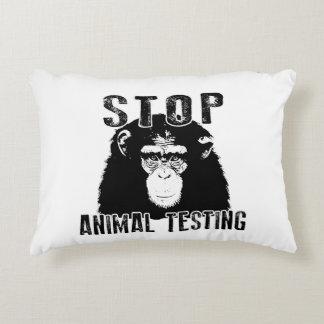 Almofada Decorativa Pare o teste animal - chimpanzé