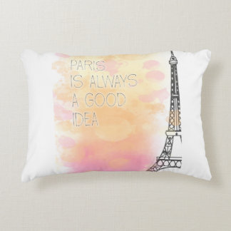 Almofada Decorativa PARIS is always a good idea, watercolor