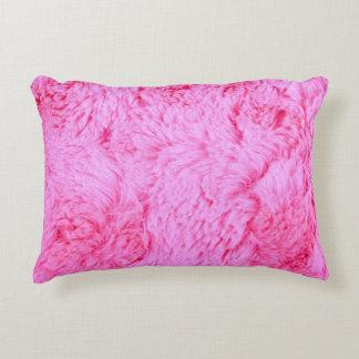 Almofada Decorativa Pele cor-de-rosa do falso