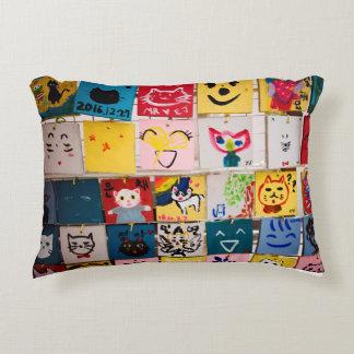 Almofada Decorativa Pinturas do gato de Ihwa