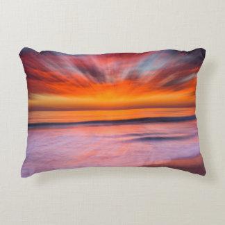 Almofada Decorativa Praia | Carlsbad de Tamarack do por do sol, CA