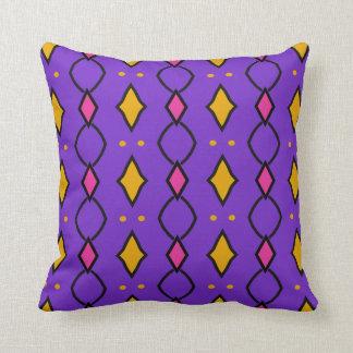 Almofada Almofada decorativa quadrada, coloré, violeta à