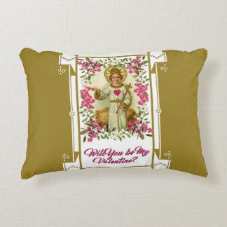 Almofada Decorativa Rei Criança Namorados Coração Flor do Jesus Cristo