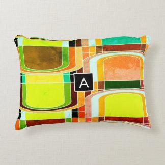 Almofada Decorativa Retro Funky colorido inspirado