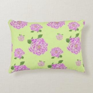 Almofada Decorativa Rosa flor flower primavera verde