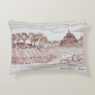 Almofada Decorativa Saint-Michel | Normandy de Mont da paisagem,