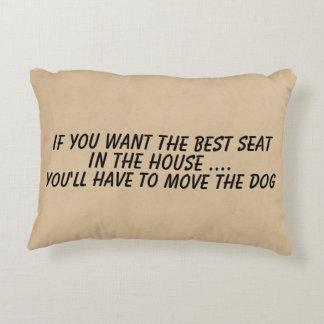 Almofada Decorativa Se você quer o melhor movimento do assento o cão