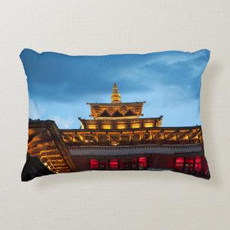 Almofada Decorativa Telhado budista de Dzong
