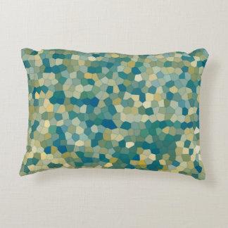 Almofada Decorativa Teste padrão abstrato colorido da textura