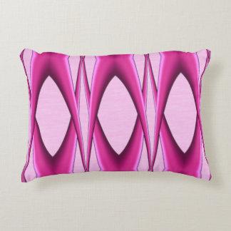 Almofada Decorativa Teste padrão cor-de-rosa original