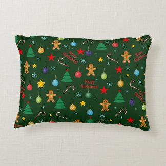 Almofada Decorativa Teste padrão do Natal