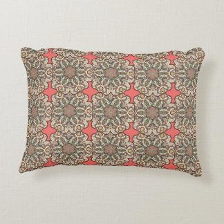 Almofada Decorativa Teste padrão floral étnico abstrato colorido de da