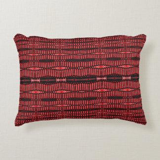 Red Black wire urban pattern