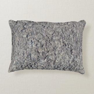 Almofada Decorativa Textura concreta áspera cinzenta 060