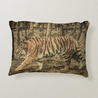 Almofada Decorativa Tigre selvagem majestoso dos animais selvagens da