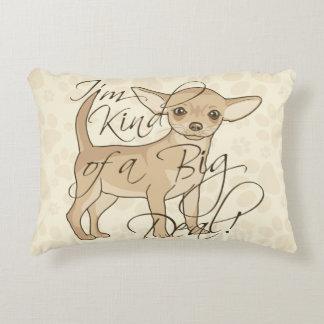 Almofada Decorativa Tipo de I'm da chihuahua de uma grande coisa