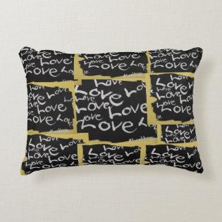 Almofada Decorativa Toda sobre o travesseiro decorativo do amor
