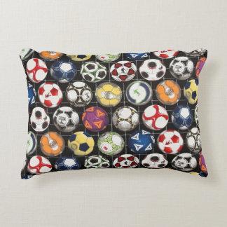 Almofada Decorativa Toma bolas para jogar o futebol