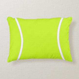 Almofada Decorativa Travesseiro amarelo brilhante do acento da bola de