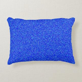 Almofada Decorativa travesseiro azul do acento do poliéster do ruído