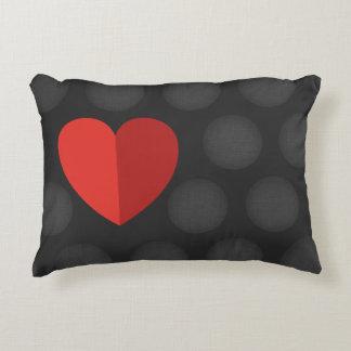 Almofada Decorativa Travesseiro bonito com coração