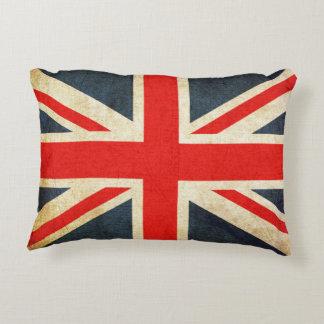 Almofada Decorativa Travesseiro britânico retro do acento da bandeira