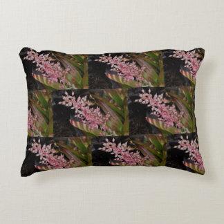 Almofada Decorativa Travesseiro cor-de-rosa da flor em botão