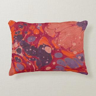 Almofada Decorativa Travesseiro cor-de-rosa & roxo do abstrato do