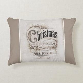 Almofada Decorativa Travesseiro da polca do Natal