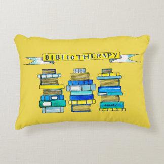 Almofada Decorativa Travesseiro de Bibliotherapy