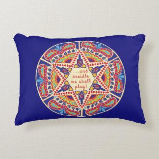 "Almofada Decorativa Travesseiro de ""design de Hanukkah Chanukah"