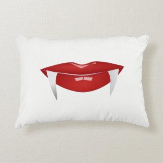 Almofada Decorativa Travesseiro decorativo dos lábios & das presas do
