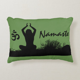 Almofada Decorativa Travesseiro decorativo espiritual de Namaste