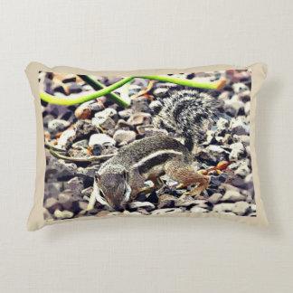 Almofada Decorativa Travesseiro decorativo Snooping do esquilo à terra
