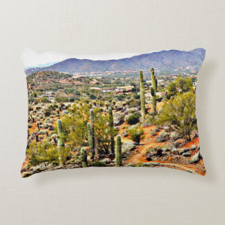 Almofada Decorativa Travesseiro decorativo transversal da paisagem do