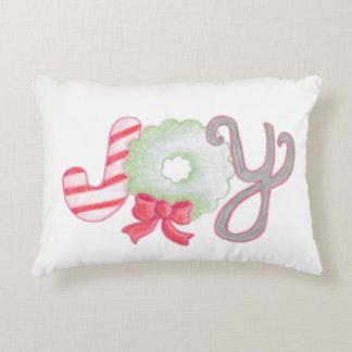 Almofada Decorativa Travesseiro do acento da alegria